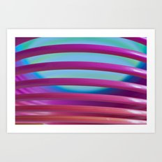 Rainbow Spring 4 Art Print