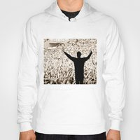 concert Hoodies featuring concert by fscVisuals