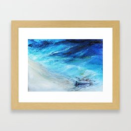 Dopo la Tempesta , seascape, view Framed Art Print