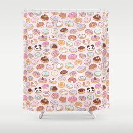Mmm... Donuts! Shower Curtain