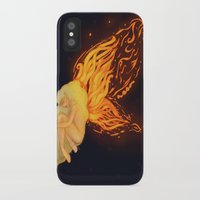 firefly iPhone & iPod Cases featuring Firefly by Cim Quinlan