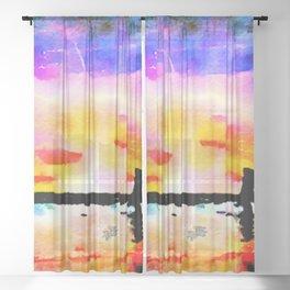 When I dream Sheer Curtain