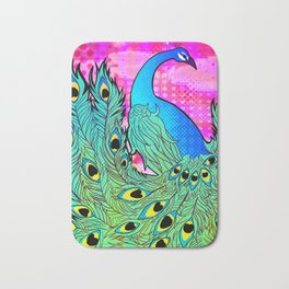 Peacock Bath Mat