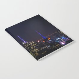 NYC Iconic Night Sky Notebook