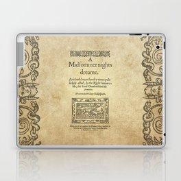 Shakespeare. A midsummer night's dream, 1600 Laptop & iPad Skin