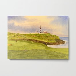 Old Head Golf Course 17th Hole Metal Print