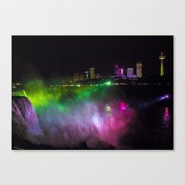 Niagara at Night Canvas Print