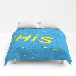 Fuck This Shit Comforters