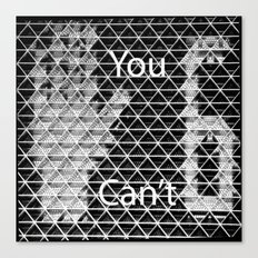You Can't Stop 6! Canvas Print