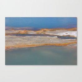 Yellowstone: Sulfur Pool 1 Canvas Print
