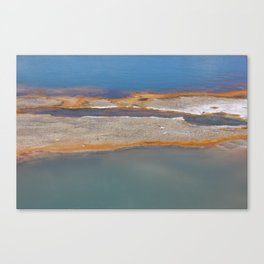 Yellowstone: Sulfur Pool 1 Canvas Print