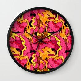 Sausagefest Wall Clock