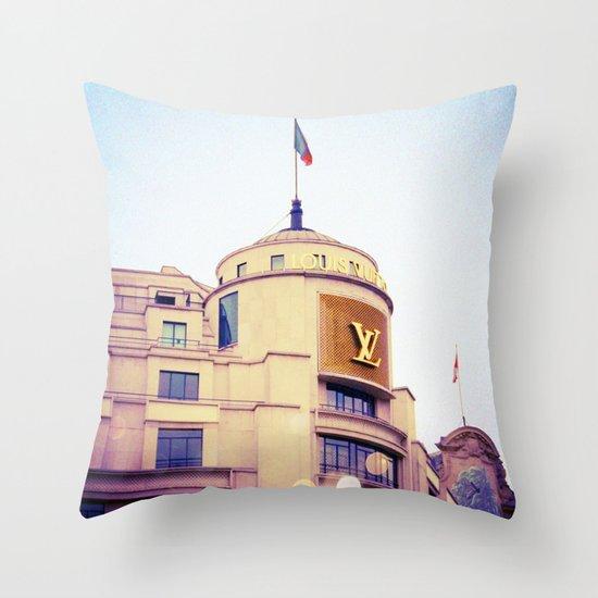 Vuitton Throw Pillow
