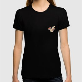 cool sticker designs play skateboard T-shirt