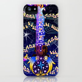 Fusion Keyblade Guitar #172 - Counterpoint & Star Seeker iPhone Case