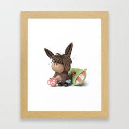 Wake up ! Framed Art Print