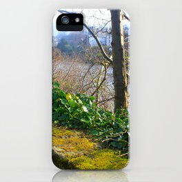 Walk on the River Bank iPhone Case