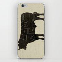 vegan iPhone & iPod Skins featuring Vegan Cuts by Ryan W. Bradley