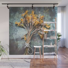 Bunch Of Daffodils Wall Mural
