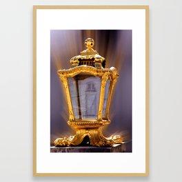 Castle Nympfenburg Munich : The golden Lantern Framed Art Print
