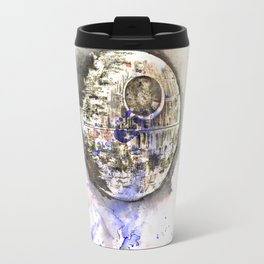 Star War Art Painting The Death Star Travel Mug