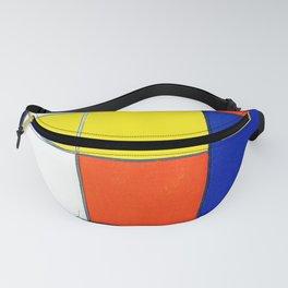 Piet Mondrian Composition B Fanny Pack