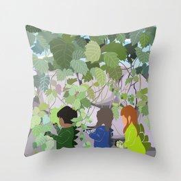 Bushsaurs Throw Pillow