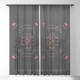 YESTERDAY Sheer Curtain