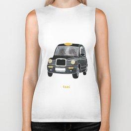 Taxi please Biker Tank