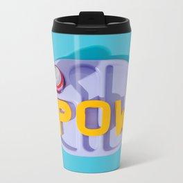 POW Metal Travel Mug