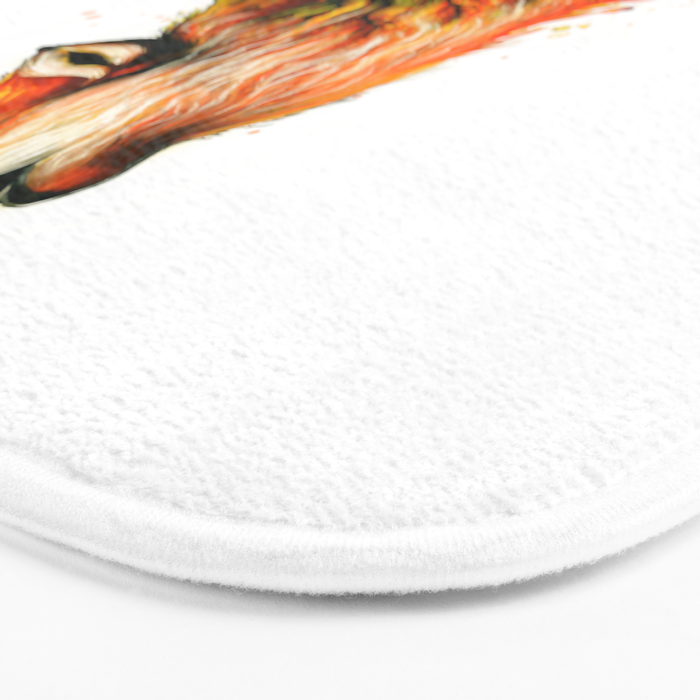 -The burning Forest- Bath Mat