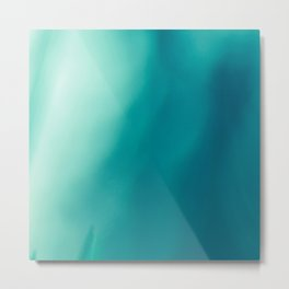 The #colors of the #deep #blue #ocean Metal Print