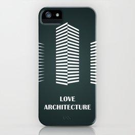 i love architecture iPhone Case