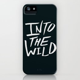 Into the Wild x BW iPhone Case