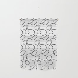 bicycle chain repeat pattern Wall Hanging