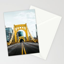 Pittsburgh Skyline Stationery Cards