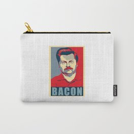 Ron Swanson Parks And Recreation Carry-All Pouch