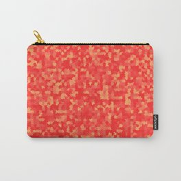Geometric pattern with colorful triangles and squares Carry-All Pouch