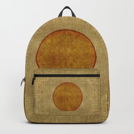 """Golden Circle Japanese Inspiration"" Backpack"