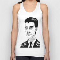 dale cooper Tank Tops featuring Cooper by Simone Bellenoit : Art & Illustration