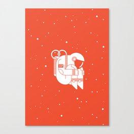 The Cosmonaut Canvas Print