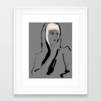 musa Framed Art Prints featuring Musa de Platino by RobGiordano4