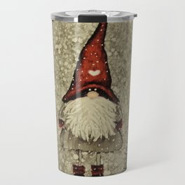 """Tomten Elmer"" is looking for a little Christmas tree. Travel Mug"