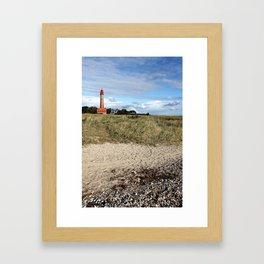 Leuchtturm Flügge Framed Art Print