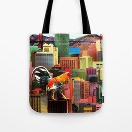 San Francisco City Chicken Tote Bag