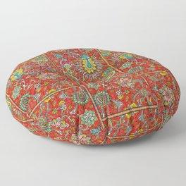 Bursts of India Jacobean - Victorio Road Series Floor Pillow