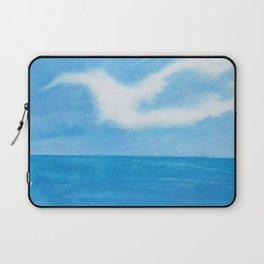 White Dove Sky Laptop Sleeve