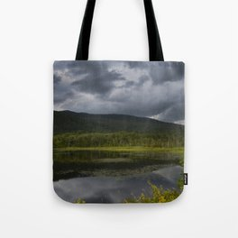 Long Pond in Eden, Vermont Tote Bag