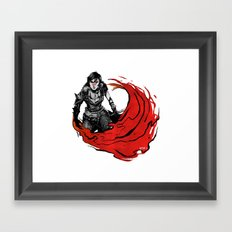 Hawke Framed Art Print