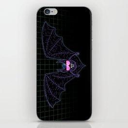 Neon Bat iPhone Skin
